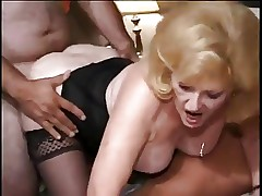 Kitty Fox And Friend In A Gangbang