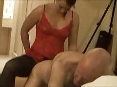 Grandpa fucked by 20 year old - mixed pics & video...