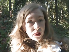 Stepmums Outdoor Seduction Handjob Precum