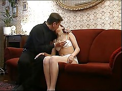 Real Taboo. Father 'dad' with his girl at home sex
