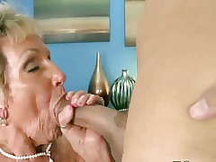 Horny grandmother