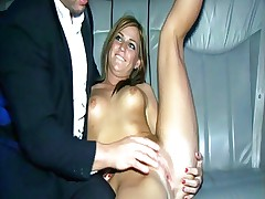 Little Teen fucks in Stretchlimo