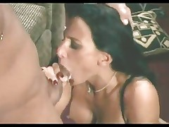 Lezley Zen take a dick in her mouth till it comes