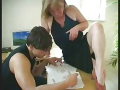 old granny gets a pussy full