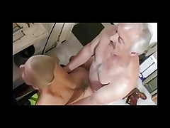 Skinhead fucked bye old man by Sail