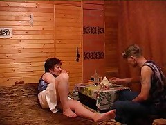 Russian Granny And Boy 112