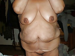 bbw taking off bra