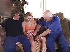 Bitch in heat gets her ass drilled