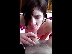 My little sexy wife giving me a BJ