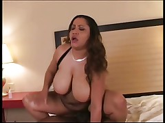 Busty MILF Kira Rodriguez Loves Dark Meat