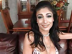 Persia Pele and her first black cock